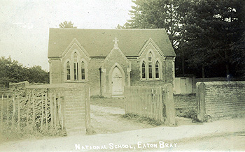 Eaton Bray National School about 1900 [Z467-21]